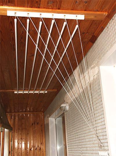Веревки на балкон для белья